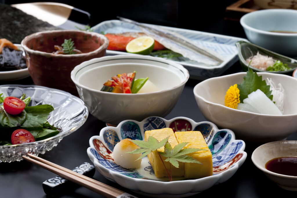 ご朝食は料亭旅館ならではの「和定食」